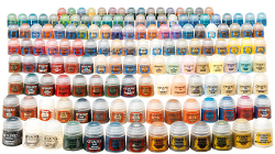 New Citadel Paints