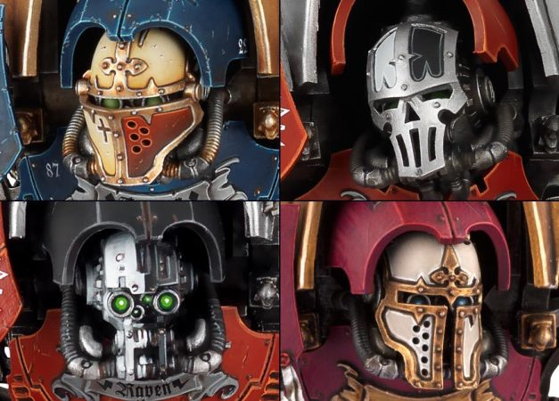 Imperial Knight Faceplates