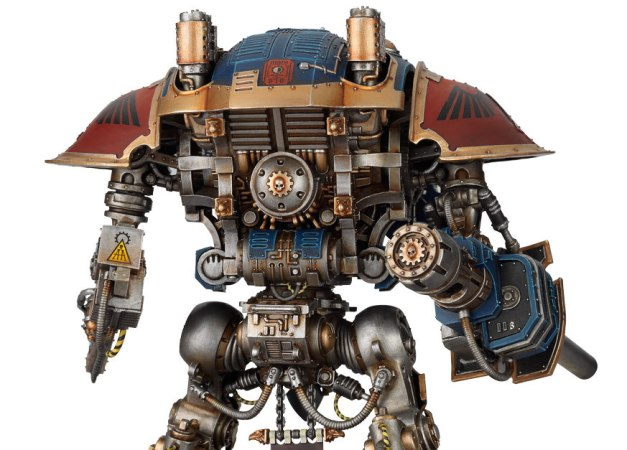 Imperial Knight rear